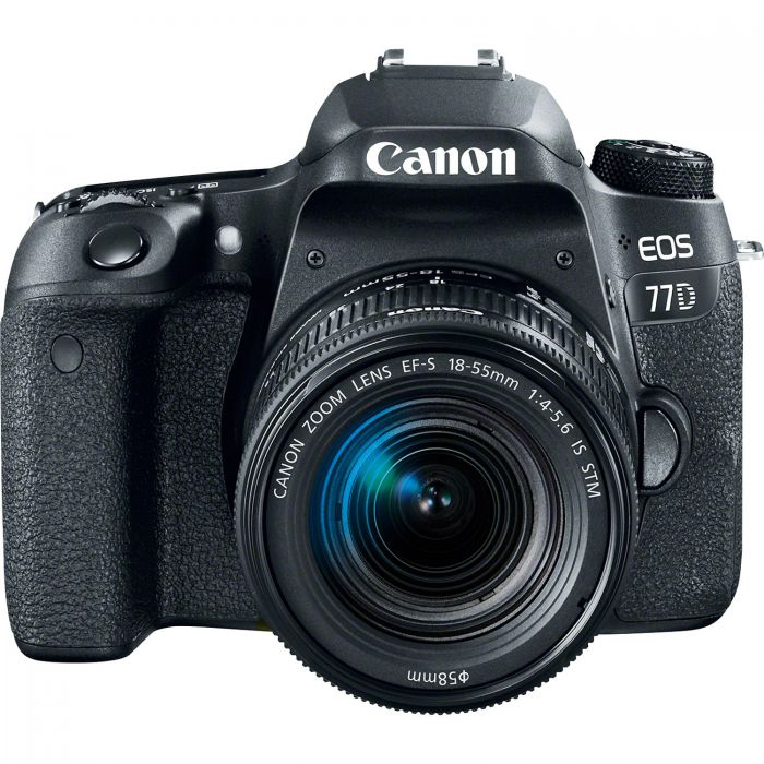 Canon EOS 77D Camera with 18-55mm Lens