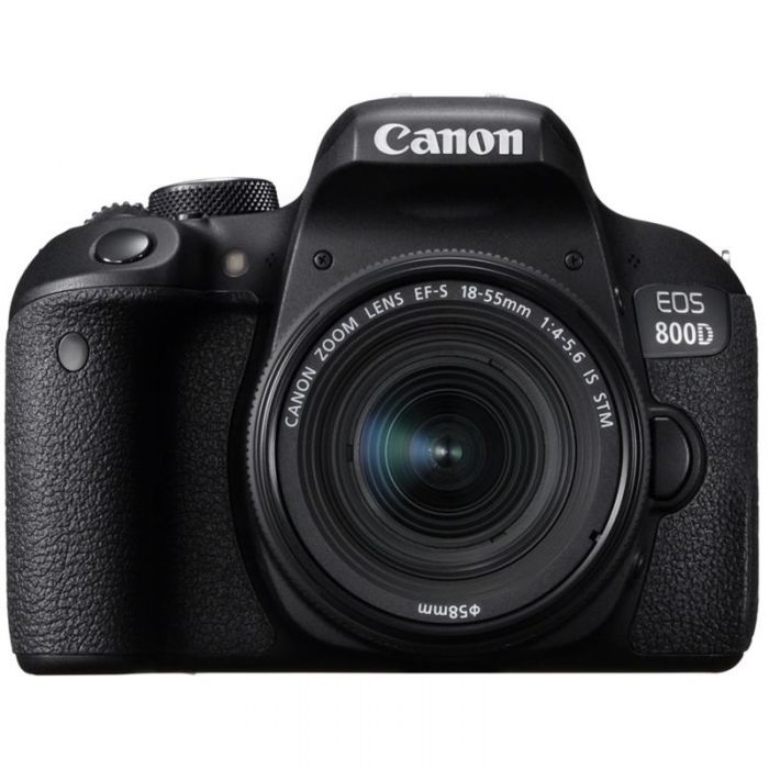 Canon EOS 800D Camera with 18-55mm Lens