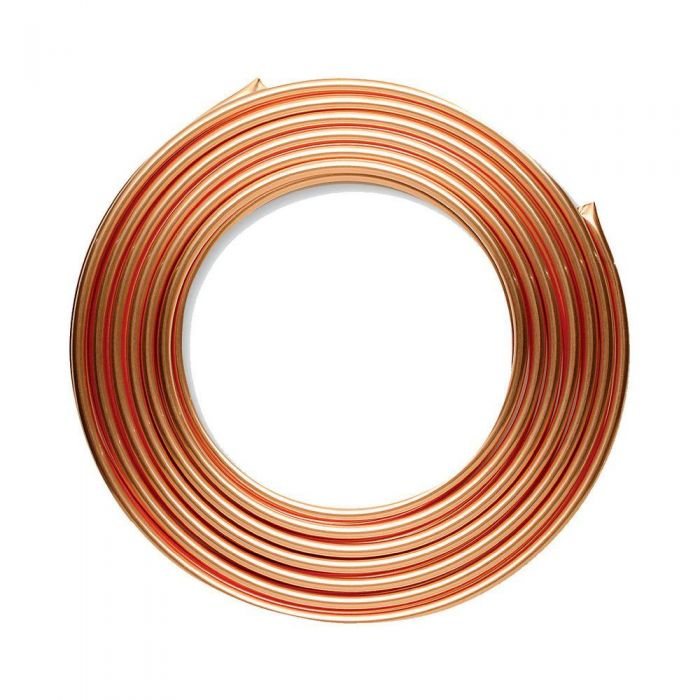 Coiled refrigeration cooper pipe 3 by 4 by 50ft