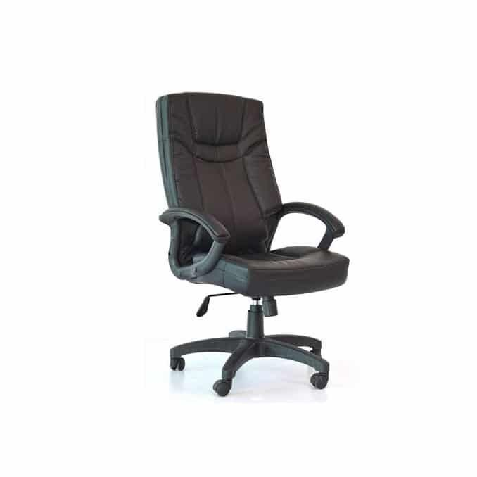 Leather chair mid back OP 1803M