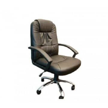Leather chair high back 8210H
