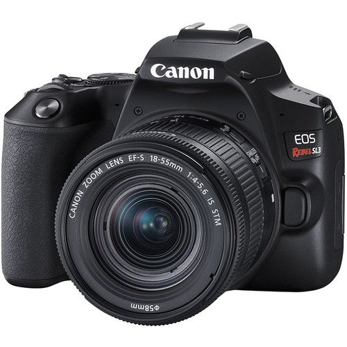 Canon EOS 250D DSLR Camera With 18-55MM F/4-5.6 IS STM Lens