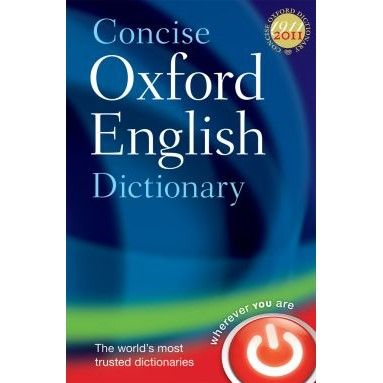 Concise Oxford Dictionary 12th Ed.
