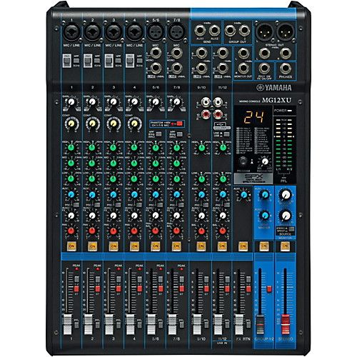 Yamaha MG12XU 12 Channel Mixer with Effects