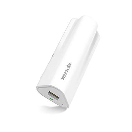 Tenda 4G300 Wireless Router with In Built Power bank