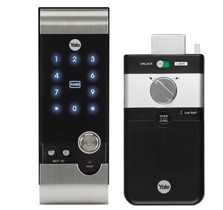 Yale YDR 3110 Smart Door Lock with Pin & Card Access