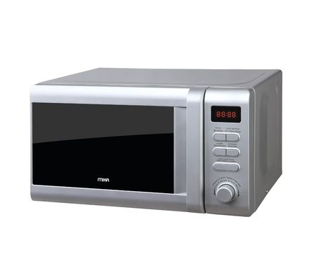 Mika 20 Litres silver Digital Microwave