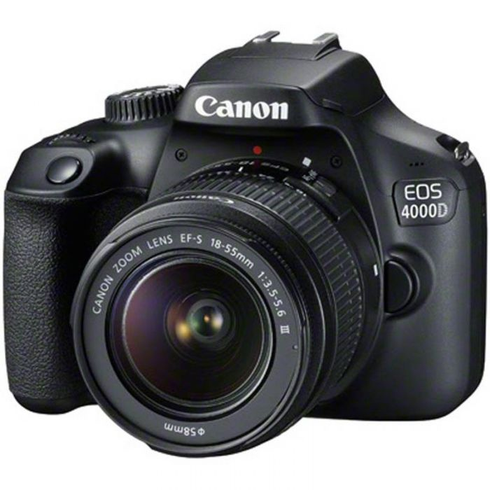 Canon EOS 4000D Camera with 18-55mm lens