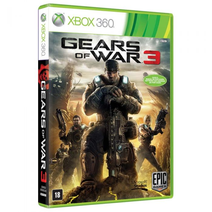 Gears of War 3 for XBOX 360