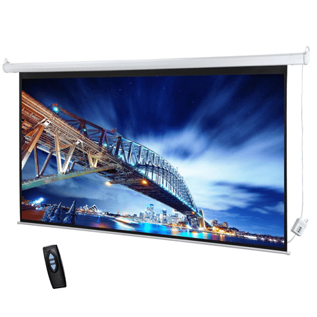 Target Projector Screen Electrical 150 by 150cm