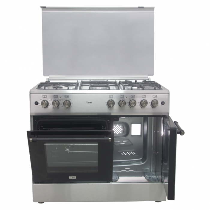 Mika MST90PU41HI/FOW  Standing Cooker, 90cmx60cm 1 Standard Oven Tray
