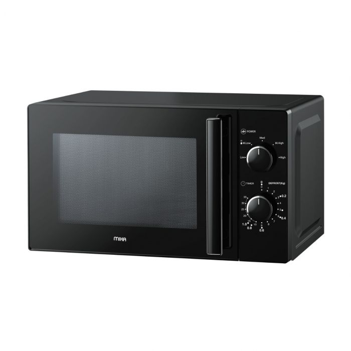 Mika MMWMSKH2012B(MMW2013/BL) Microwave, 20Ltrs, Without Grill-BLACK