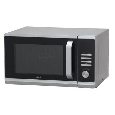 Mika MMWDGBH2333S Microwave 23Ltrs WITH GRILL Digital Button Control-SILVER