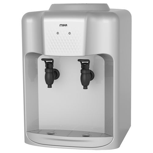 Mika MWD1204/SBL Table Top Hot and Normal Water Dispenser- Silver & Black