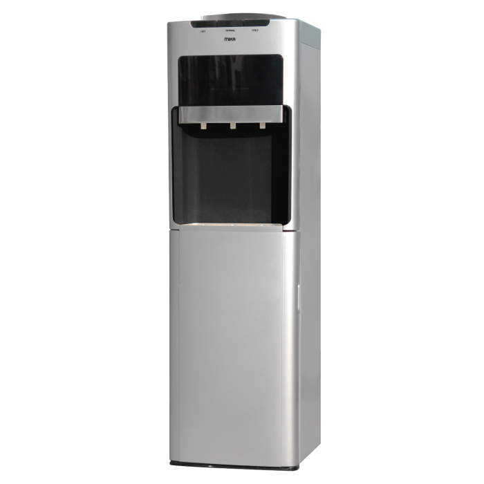 Mika MWD2604/SBL Hot, Normal and Cold Water Dispenser-Silver & Black