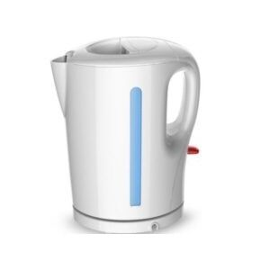Mika MKT1101 Cordless Kettle (Electric) 1.7L Plastic Body-White & Blue