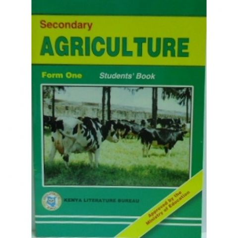 KLB Secondary Agriculture Form 1 S/B [Approved]