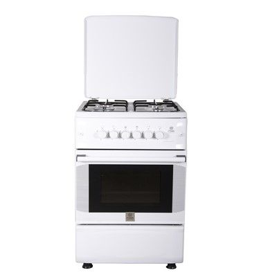 Mika 50x55cm 4 gas burner standing cooker- gas oven