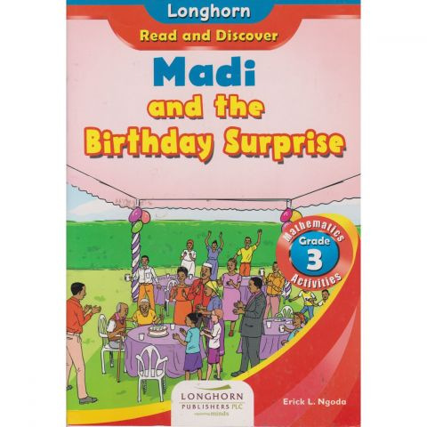 Longhorn Madi and the birthday surprise
